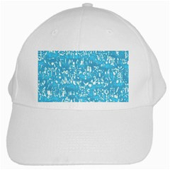 Glossy Abstract Ocean White Cap by MoreColorsinLife
