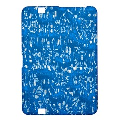 Glossy Abstract Teal Kindle Fire HD 8.9