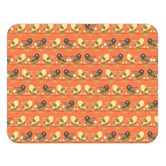 Birds Pattern Double Sided Flano Blanket (large)  by linceazul