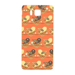 Birds Pattern Samsung Galaxy Alpha Hardshell Back Case by linceazul