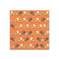 Birds Pattern Satin Bandana Scarf by linceazul