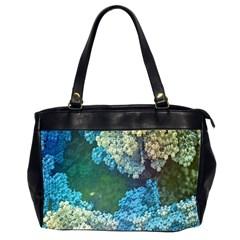 Fractal Formula Abstract Backdrop Office Handbags (2 Sides)  by BangZart