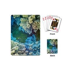 Fractal Formula Abstract Backdrop Playing Cards (mini)  by BangZart