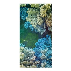Fractal Formula Abstract Backdrop Shower Curtain 36  X 72  (stall)  by BangZart