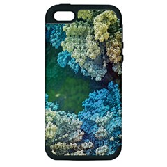 Fractal Formula Abstract Backdrop Apple Iphone 5 Hardshell Case (pc+silicone) by BangZart