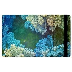 Fractal Formula Abstract Backdrop Apple Ipad 2 Flip Case by BangZart