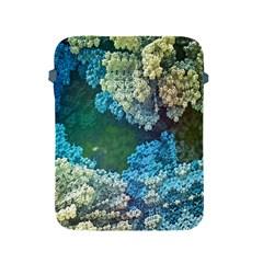 Fractal Formula Abstract Backdrop Apple Ipad 2/3/4 Protective Soft Cases by BangZart