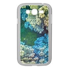 Fractal Formula Abstract Backdrop Samsung Galaxy Grand Duos I9082 Case (white) by BangZart
