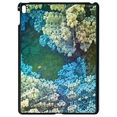 Fractal Formula Abstract Backdrop Apple Ipad Pro 9 7   Black Seamless Case by BangZart