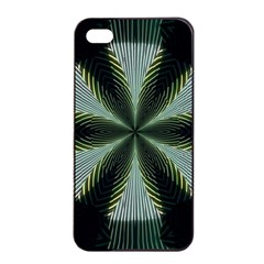 Lines Abstract Background Apple Iphone 4/4s Seamless Case (black) by BangZart