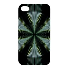 Lines Abstract Background Apple Iphone 4/4s Hardshell Case by BangZart