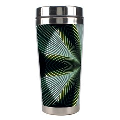 Lines Abstract Background Stainless Steel Travel Tumblers by BangZart