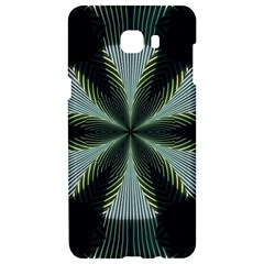 Lines Abstract Background Samsung C9 Pro Hardshell Case  by BangZart