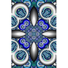 Fractal Cathedral Pattern Mosaic 5 5  X 8 5  Notebooks by BangZart