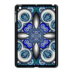 Fractal Cathedral Pattern Mosaic Apple Ipad Mini Case (black) by BangZart