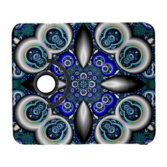 Fractal Cathedral Pattern Mosaic Galaxy S3 (flip/folio) by BangZart