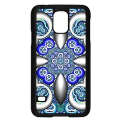 Fractal Cathedral Pattern Mosaic Samsung Galaxy S5 Case (black) by BangZart