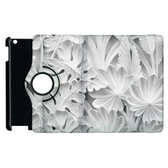 Pattern Motif Decor Apple Ipad 2 Flip 360 Case by BangZart