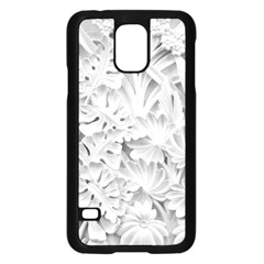 Pattern Motif Decor Samsung Galaxy S5 Case (black) by BangZart