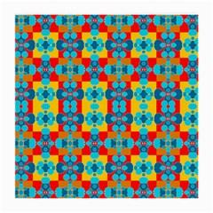 Pop Art Abstract Design Pattern Medium Glasses Cloth by BangZart