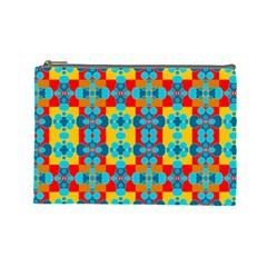 Pop Art Abstract Design Pattern Cosmetic Bag (large)  by BangZart