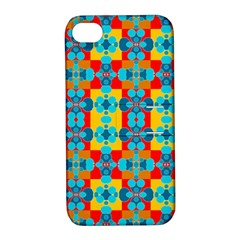 Pop Art Abstract Design Pattern Apple Iphone 4/4s Hardshell Case With Stand by BangZart