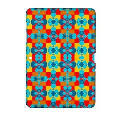 Pop Art Abstract Design Pattern Samsung Galaxy Tab 2 (10 1 ) P5100 Hardshell Case  by BangZart