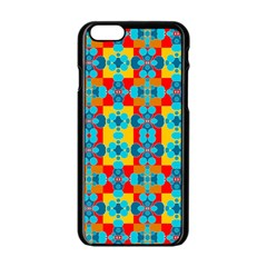Pop Art Abstract Design Pattern Apple Iphone 6/6s Black Enamel Case by BangZart