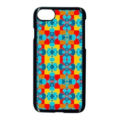 Pop Art Abstract Design Pattern Apple Iphone 7 Seamless Case (black) by BangZart