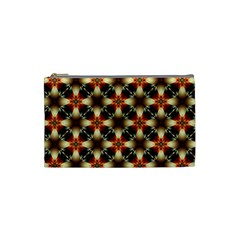 Kaleidoscope Image Background Cosmetic Bag (small)  by BangZart