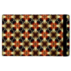Kaleidoscope Image Background Apple Ipad 2 Flip Case by BangZart