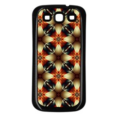 Kaleidoscope Image Background Samsung Galaxy S3 Back Case (black) by BangZart