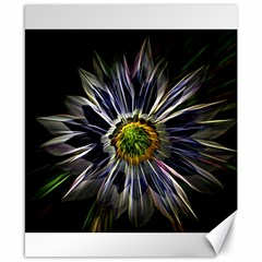 Flower Structure Photo Montage Canvas 8  X 10  by BangZart