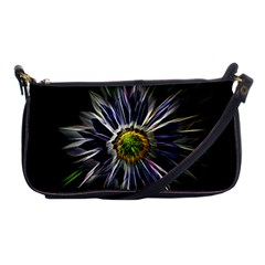 Flower Structure Photo Montage Shoulder Clutch Bags by BangZart