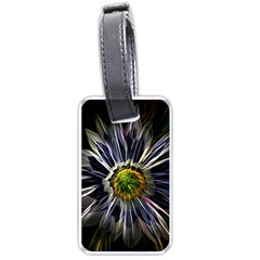 Flower Structure Photo Montage Luggage Tags (one Side)  by BangZart