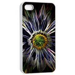 Flower Structure Photo Montage Apple Iphone 4/4s Seamless Case (white) by BangZart