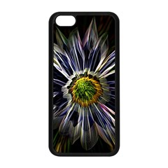 Flower Structure Photo Montage Apple Iphone 5c Seamless Case (black) by BangZart