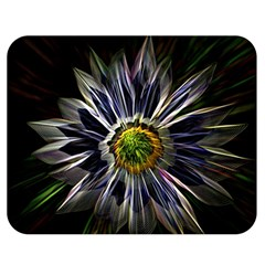 Flower Structure Photo Montage Double Sided Flano Blanket (medium)  by BangZart