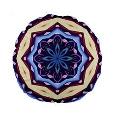 Mandala Art Design Pattern Standard 15  Premium Round Cushions by BangZart