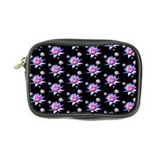 Flowers Pattern Background Lilac Coin Purse by BangZart