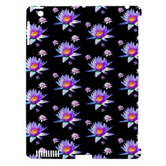 Flowers Pattern Background Lilac Apple Ipad 3/4 Hardshell Case (compatible With Smart Cover) by BangZart