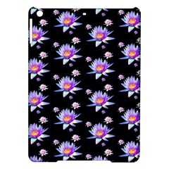 Flowers Pattern Background Lilac Ipad Air Hardshell Cases by BangZart