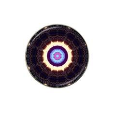 Mandala Art Design Pattern Hat Clip Ball Marker (4 Pack) by BangZart