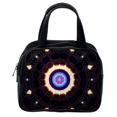 Mandala Art Design Pattern Classic Handbags (one Side)