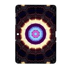 Mandala Art Design Pattern Samsung Galaxy Tab 2 (10 1 ) P5100 Hardshell Case  by BangZart