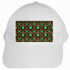 Pattern Background Bright Brown White Cap by BangZart