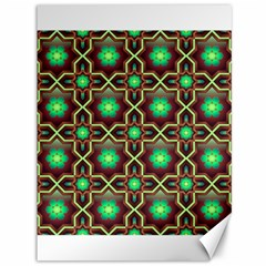 Pattern Background Bright Brown Canvas 36  X 48   by BangZart