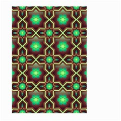 Pattern Background Bright Brown Large Garden Flag (two Sides) by BangZart
