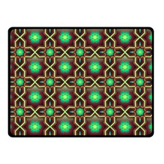 Pattern Background Bright Brown Double Sided Fleece Blanket (small)  by BangZart