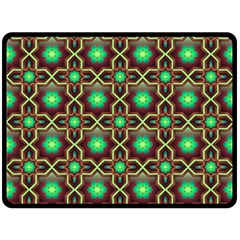 Pattern Background Bright Brown Double Sided Fleece Blanket (large)  by BangZart